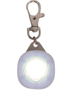 Safety Disc Transparent White. Synlig LED reflexlampa med 3 ljuslägen.