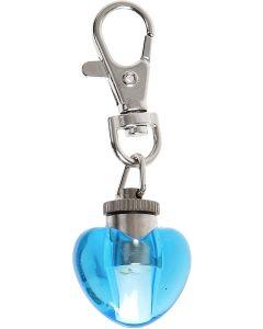 Safety Light Blinki Heart Blå. Snyggt flashande blink-hjärta.