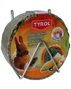 Tyrol Hörulle Majs 240g. Naturligt snack-tugg med hö och majs.