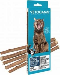 Vetocanis Dental Sticks 5-pack. Tandvårdande tuggpinnar till katt.