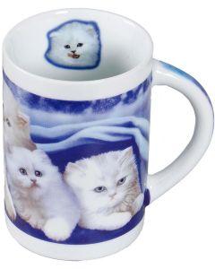 Mugg med sött kattmotiv