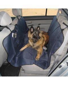 Bilskydd med fickor till baksäte av tålig nylon