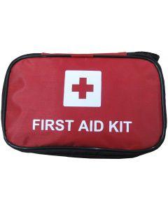 Välfylld första hjälpen väska