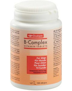 B-vitamin tabletter till hundar med pälsproblem
