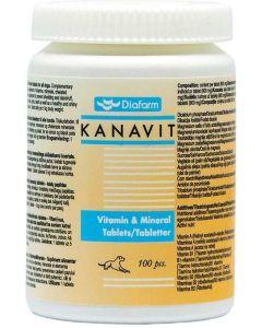 Vitamin och mineral tabletter till hund