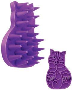 Kong Cat ZoomGroom. Massagekarda som avlägsnar löst hår.