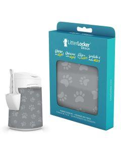 LitterLocker Design Sleeve Cat Paws. Snyggt designat överdrag till LitterLocker