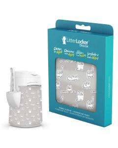 LitterLocker Design Paper Cats. Snyggt designat överdrag till LitterLocker.