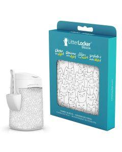 LitterLocker Design Sleeve Cats. Snyggt designat överdrag till LitterLocker.