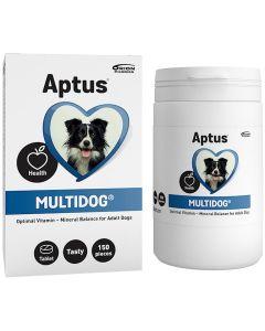 Aptus Multidog Tablett. Multivitamin till vuxna hundar.