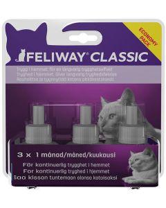 Feliway Classic Refill 3-pack. Skapar en lugn och trygg känsla i hemmet.