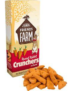 Supreme Petfoods. Russel Rabbit Crunchers. Goda kex med smak av morötter.