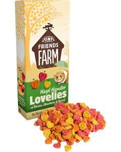 Supreme Petfoods. Hazel Hamster Lovelie. Goda kex med smak av banan, jordgubbar och aprikos.