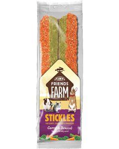 Supreme Petfoods. Stickles Carrot & Broccoli. Läckra godispinnar med mix av morötter och broccoli.