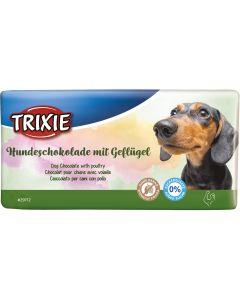 Hund Chokladkaka Fågel. Hundchoklad med smak av fågel.