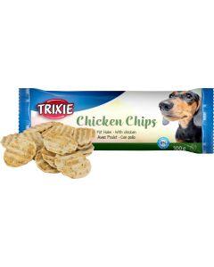 Snack Chips with Chicken. Hundchips med kyckling.