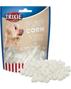 Popcorn with liver taste. Hund popcorn med leversmak.