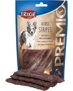 Premio Horse Stripes. Mumsiga tuggbitar med hästkött.