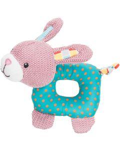 Trixie Jr Leksak Kanin 16cm. Gullig kanin med fina detaljer och pipljud.