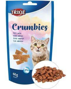 Trixie Crumbies Lax 60g. Krispiga godbitar med fågel och taurin.