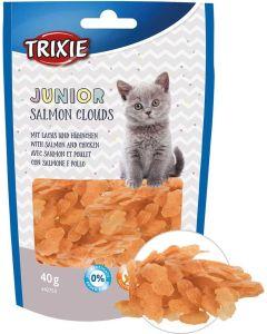 Trixie Jr Salmon Clouds 40g. Godis av lax och kycklig för kattungar.