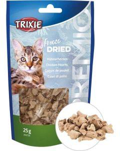 Trixie Premio Chicken Hearts. Frystorkade kycklinghjärtan i bitar.