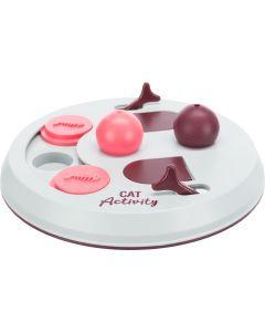 Cat Activity Flip Board. Aktivitetsspel med tre olika utmaningar.