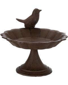 Trixie Fågelbad Gjutjärn Foot. Stående fågelbord för året rund aktivitet.