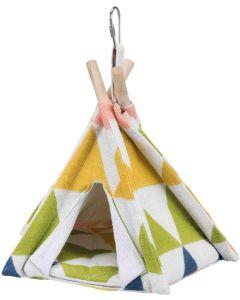 Trixie Fågeltipi. Tält att hänga upp i buren till små fåglar .