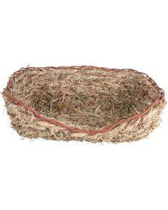 Trixie Gräsbädd 33 x 26 cm. Ätbar bädd för kanin och marsvin.