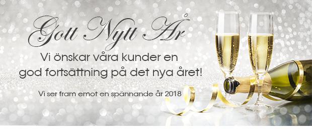 Vi önskar alla kunder gott nytt år!