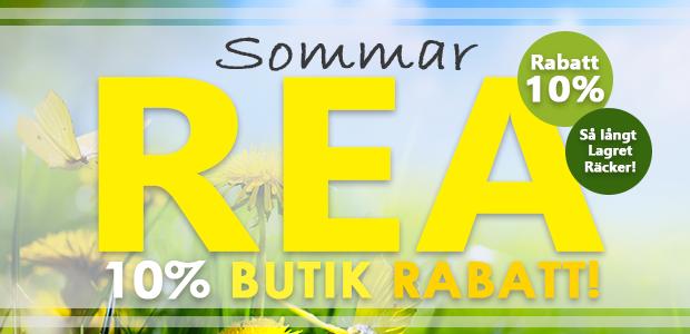 Sommar REA - 10% på nästan alla varor