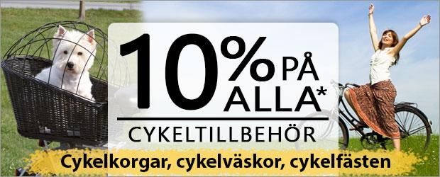 Just nu - 15% rabatt på alla cykeltillbehör