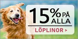 Just nu - 15% på alla löplinor och uppkoppling